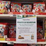 Nourriture pour les chines au refuge SPA de Poitiers