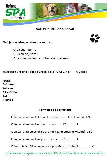 Bulletin de parrainage 2013 internet